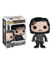 Pop! Game of Thrones - Jon Snow (All-Black)