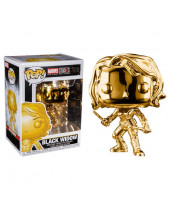 Pop! Marvel Studios - Black Widow (Chrome)