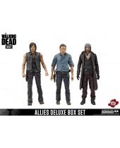 Walking Dead TV Version akčné figúrky 3-pack Allies 13 cm