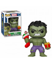 Pop! Marvel Comics - Hulk Holiday (Bobble Head)