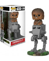 Pop! Star Wars - Chewbacca with AT-ST Deluxe