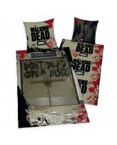 Walking Dead - posteľné obliečky Dont Open Dead Inside 135 x 200 cm / 80 x 80 cm