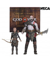 God of War 2018 Ultimate akčné figúrky 2-Pack Kratos and Atreus 13-18 cm