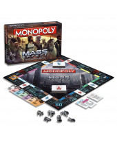 Mass Effect stolová hra Monopoly (English Version)