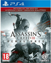 Assassins Creed 3 and Assassins Creed - Liberation (PS4)