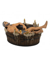 Witcher 3 Wild Hunt socha Geralt in the Bath 9 cm