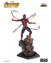 Avengers Infinity War BDS Art Scale socha 1/10 Iron Spider-Man 26 cm