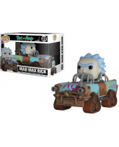Pop! Rides - Rick and Morty - Mad Max Rick Super Sized 15 cm