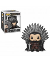 Pop! Game of Thrones - Jon Snow on Iron Throne Deluxe Super Sized 15 cm