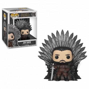 Pop! Game of Thrones - Jon Snow on Iron Throne Deluxe Super Sized 15 cm