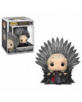 Pop! Game of Thrones - Daenerys on Iron Throne Deluxe Super Sized 15 cm