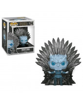 Pop! Game of Thrones - Night King on Iron Throne Deluxe Super Sized 15 cm