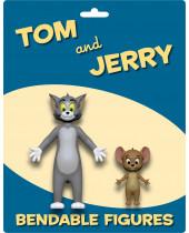 Tom and Jerry ohybné postavičky 2-Pack 6 - 15 cm