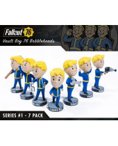 Fallout 76 Bobble-Heads 13 cm Vault-Tec Vault Boys Series 1 7-Pack