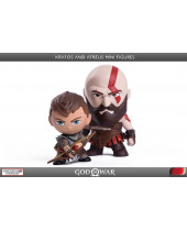 God of War PVC Mini sochy 2-Pack Kratos and Atreus 7 - 9 cm