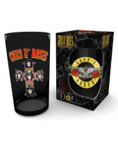 Guns N Roses Premium Pint Glass Logo