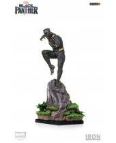 Black Panther Battle Diorama Series socha 1/10 Killmonger 27 cm