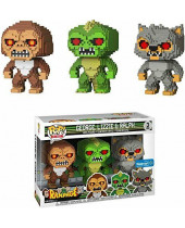 Pop! Rampage 8-Bit - George, Lizzie and Ralph - 3-Pack