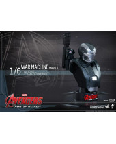 Avengers Age of Ultron busta 1/6 Iron Man War Machine Mark II 12 cm