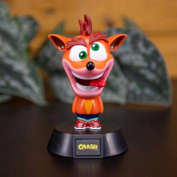 Crash Bandicoot 3D lampa Crash Bandicoot 10 cm