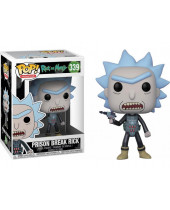 Pop! Animation - Rick and Morty - Prison Escape Rick