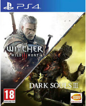 Dark Souls 3 + The Witcher 3 - Wild Hunt (PS4)