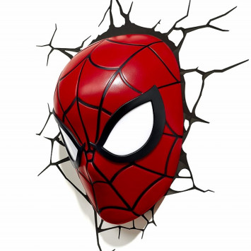 Marvel 3D LED lampa Spiderman