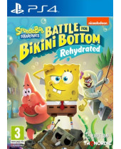 Spongebob Squarepants - Battle for Bikini Bottom Rehydrated (PS4)