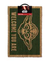 Star Wars rohožka - Yoda 40 x 60 cm