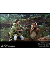 Star Wars Return of the Jedi akčné figúrky 2-Pack 1/6 Princess Leia and Wicket 15 - 27 cm