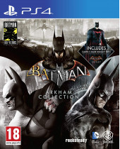 Batman - Arkham Collection Triple Pack (PS4)