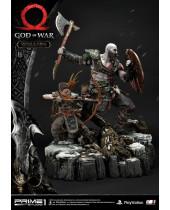 God of War 2018 socha Kratos and Atreus 72 cm