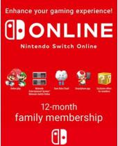 365 Dní Switch Online Membership Family (NSW) (DIGITÁLNA DISTRIBÚCIA)