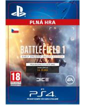 Battlefield 1 Early Enlister Deluxe Edition (CZ PSN) (digitálny produkt)