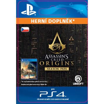 Assassins Creed Origins - Season Pass (CZ PSN) (digitálny produkt)