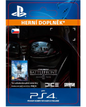 Star Wars Battlefront - Season Pass (CZ PSN) (digitálny produkt)