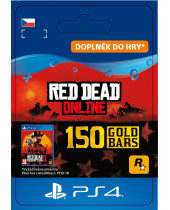 Red Dead Online - 150 Gold Bars (CZ PSN) (digitálny produkt)