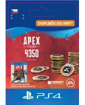 Apex Legends 4,000 +350 Bonus Apex Coins (CZ PSN) (digitálny produkt)