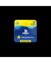 SONY PlayStation Plus Card 365 dní CZ (digitálny produkt)