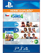 The Sims 4 Bundle (CZ PSN) (digitálny produkt)