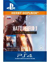 Battlefield 1 - Premium Pass (SK PSN) (digitálny produkt)